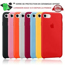 Coque Protection silicone iPhone 7 8 plus X XR XS MAX 11 PRO SE 2020 12 pro max