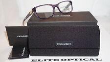 New Authentic Dolce & Gabbana Violet Transparent/Clear DG3170 2735 53 135