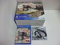 PlayStation Vita × GOD EATER 2 Fenrir limited Edition (PCHJ-10010) PS Japan F/S