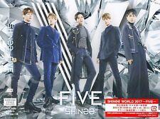 SHINEE-FIVE-JAPAN CD+DVD+BOOK Ltd/Ed L34