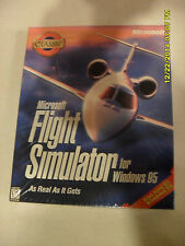 MICROSOFT  FLIGHT  SIMULATOR   (WINDOWS 98/95) CLASSIC GAME