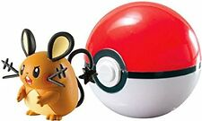 POKEMON CLIP N CARRY POKEBALL DEDENNE WITH POKE BALL FIGURE SET TOMY