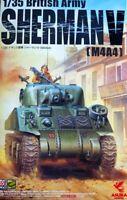 M4A4 SHERMAN V (BRITISH AND POLISH ARMY MKGS, NORMANDY 1944) #35016 1/35 ASUKA