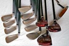 WILSON Fat Shaft Complete Golf Set 3-PW,SW / 3 Deep Red Woods & Putter STIFF MRH