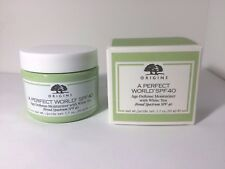 Origins A Perfect World SPF40 Age Defense Moisturizer White Tea 1.7 oz NIB