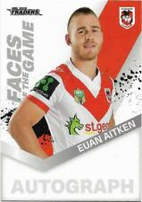 2018 NRL Traders Faces of the Game (FG 49 / 64) Euan AITKEN Dragons