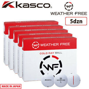 2020 Kasco Golf japan WEATHER FREE COLD DAY BALL 5dzn 60ball White WF 20wn