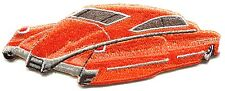 CLASSIC CAR orange lowrider IRON-ON PATCH **FREE SHIPPING** -c p3770 hot rod