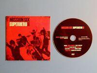 Mission Six ~ Superhero (DVD) In Sleeve, Christian Rock / Pop, Guaranteed, Rare