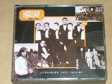 BOITIER 3 CD RARES / LITHUANIAN JAZZ 1929-1980 / EXCELLENT ETAT