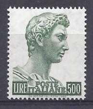 Italia Repubblica 1974 San Giorgio 500L MNH**