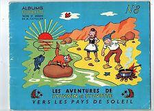 Sylvain et Sylvette n°8. Vers les Pays de Soleil. Fleurus 1957
