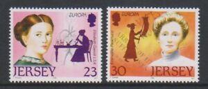Jersey - 1996, Europa, Famous Women set - MNH - SG 739/40