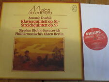 6570 571 Dvorak Piano Quintet etc. / Kovacevich / Berlin Philharmonic Octet