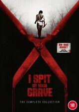 I Spit on Your Grave 1 2 3 & Deja VU The Complete Collection Blu Ray Set RB