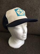 Vintage Chrysler Blue White 80's Style Trucker Hat