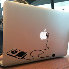 """Ipod y auriculares de Apple Macbook Decal Sticker encaja 11"""" 12"""" 13"""" 15"""" & 17"""" Modelos"""