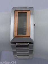 ROSATO LCD Matrix R627 - Damenuhr / Quarz / Edelstahl