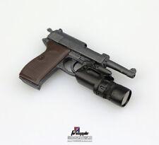 1/6 WWII Walter P38 P-38 Pistol Gun Weapon Model Soldier Figure Accessories