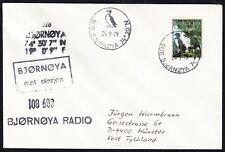 """Arctic,""""Base BJÖRNÖYA """"1979,4 Cachets+Postmarks,look Scan !! 15.7-43"""