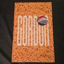 Barenaked Ladies promo poster-Gordon 2017 reissue-Macaroni & Cheese-New-11X17