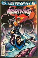 DC Comics Nightwing Rebirth #9 Dick Grayson Batman Bludhaven Superman 2016 NM
