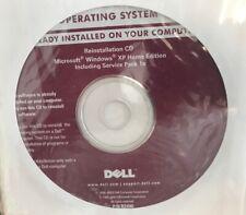 Microsoft Windows XP SP1a Home Dell Reinstall Reinstallation Disc CD