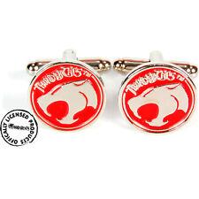 Boutons de manchettes Cosmocats officiel en metal boite Thundercats cufflinks