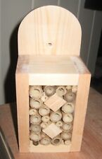Handmade wooden Mini Bug Box ladybirds bees lacewings