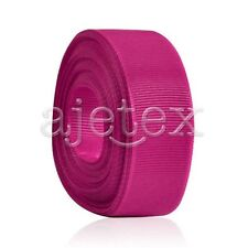 """10 Meters 1/4""""6mm Grosgrain Ribbon Bows Wedding Craft Decoration Rose Red OBS"""