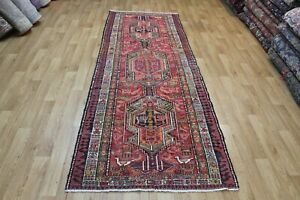 Antique Traditional Hand Made Caucasian Sumac Wool Runner 288 x 105 cm