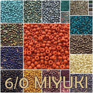 6/0 20 g Miyuki Round Seed Beads #1233-2607