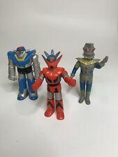 3 VTG Bullmark Ultraman King Bandai  Sofubi Figures 5? Vinyl
