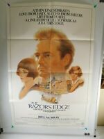"1984 THE RAZOR'S EDGE Original Movie Poster 27"" x 41""  Bill Murray James Keach"