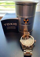 Toxic Edge Metal Watch (TX7021) Quartz - Black Dial **Free Shipping**