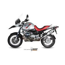 MIVV-Auspuff BMW R 1150 GS Bj.99-03 (SPEED EDGE,Edelstahl / Carbon-cap,Motorrad)
