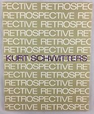 Art Exhibition Catalogue 1966 German Artist Kurt Schwitters Dallas San Francisco
