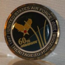 """United States Military  Air Force 60th Anniversary Challenge Coin 1-1/2"""""""