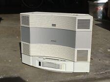 Bose Acoustic Wave CD-3000 & Multi-Disc CD Changer White Stereo Speaker Radio