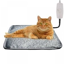 Outdoor Heated Pet Dog Cat House Warm Waterproof Electric Heating Pad Large Bed