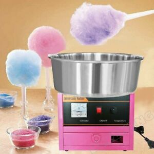 Cotton Candy Maker  Machine Commercial Electric Kids Party Sugar Floss SS