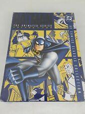 "DC Comics BATMAN The Animated Series - Vol. 2 (DVD, 2004, 4-Disc Set) ""NEW"""