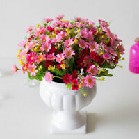 Simulated Chrysanthemum Flower Decor Balcony Hanging Basket 28 Heads Floral LAZ