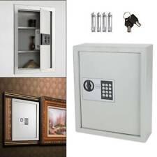 Digital 48 Keys Safe Electronic Security Cabinet Box Storage Metal Wall Mounted
