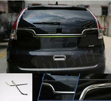 For Honda CRV CR-V 2012-2015 Stainless Steel Rear Door Rear Door Cover Trim 2pcs