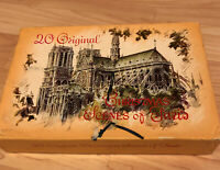 Bradford Greeting Cards Original Christmas Scenes of Paris In Box