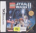 LEGO STAR WARS II 2 - COMPLETE with Manual - NINTENDO DS