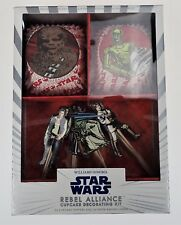 Star Wars Rebel Alliance by Williams Sonoma Cupcake Kit Yoda Luke R2D2 CP30