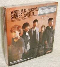 SHINee The 1st Concert Album SHINee World Taiwan 2-CD+44P booklet digipak