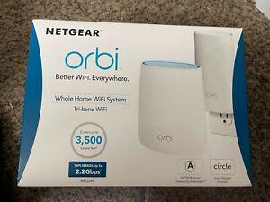 NETGEAR Orbi AC2200 Tri-Band Mesh Wi-Fi System (2-pack) - RBK20W-100NAS